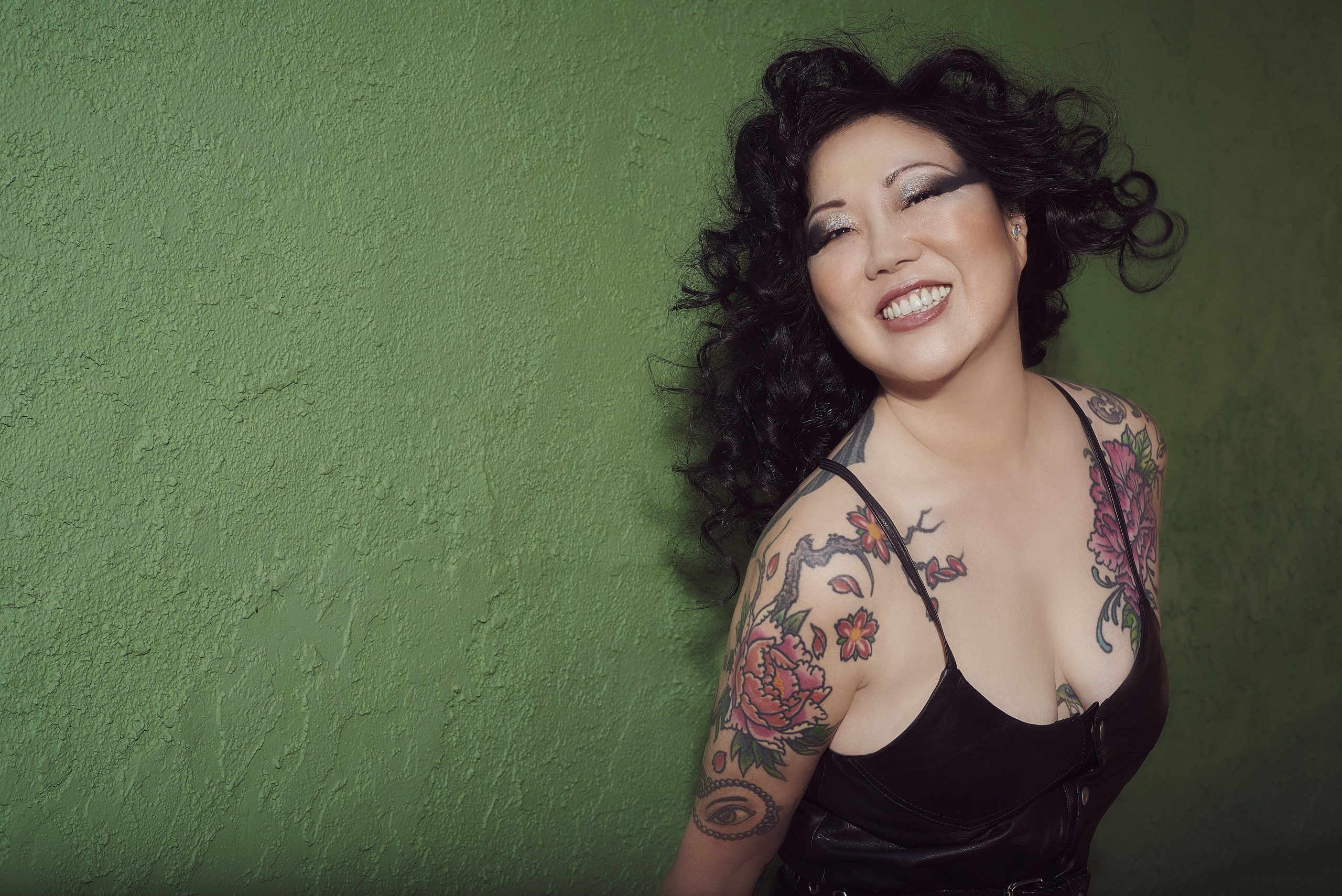 Photo of comedian Margaret Cho smiling